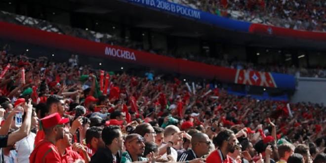 صورة جماهير مغربية غفيرة تحل بالقاهرة قبل مباراة ناميبيا