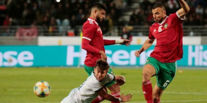 صورة فريق إنجليزي عريق يدعم المغرب قبل مباراة ناميبيا
