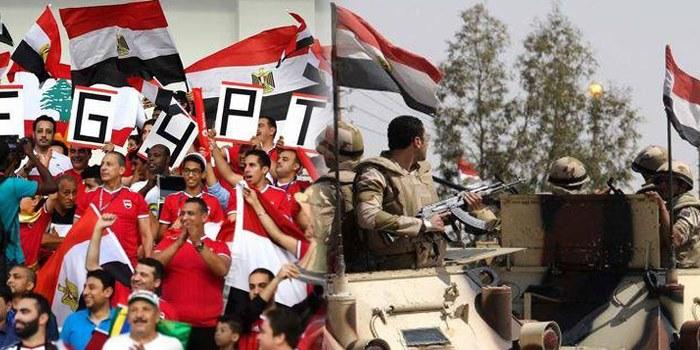 """صورة تزامنا مع """"الكان""""..11 قتيلا في عملية إرهابية بمصر"""