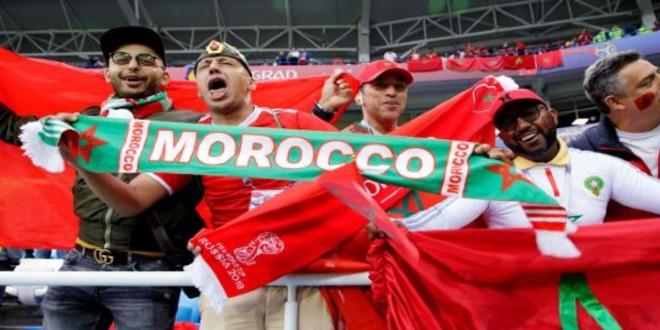 صورة فريق إيطالي ينشر خريطة المغرب بدون صحرائه