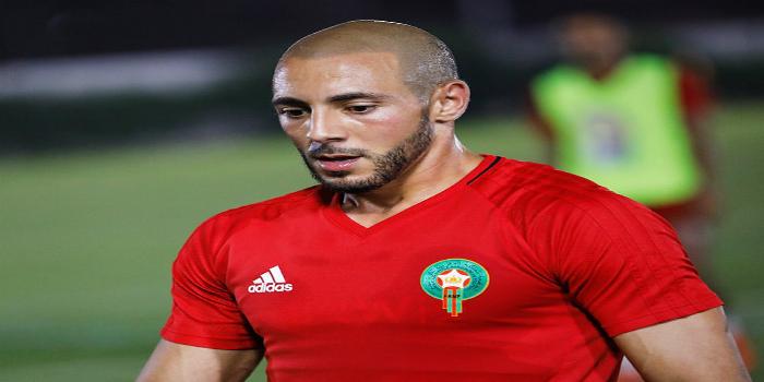 صورة أمرابط أفضل لاعب في مباراة المغرب وساحل العاج- صورة