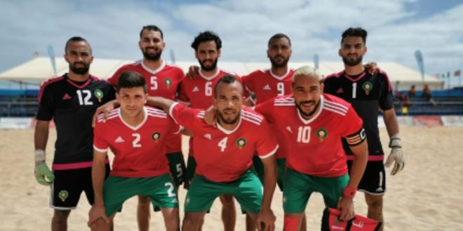 صورة منتخب الكرة الشاطئية إلى نهائي الألعاب الإفريقية