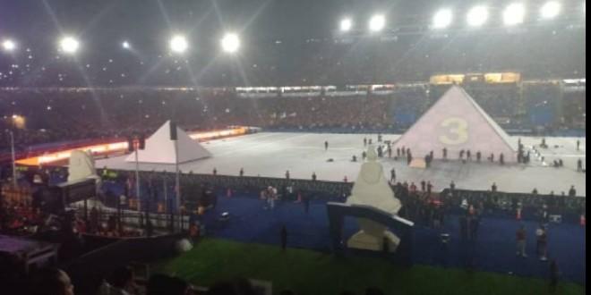 صورة البث المباشر لحفل افتتاح كأس أمم إفريقيا