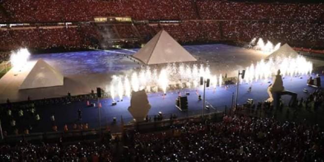 صورة مصر تبهر العالم بحفل افتتاح متيمز -فيديو