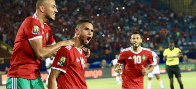 صورة إشادة عالمية بتأهل الأسود إلى ثمن نهائي كأس إفريقيا