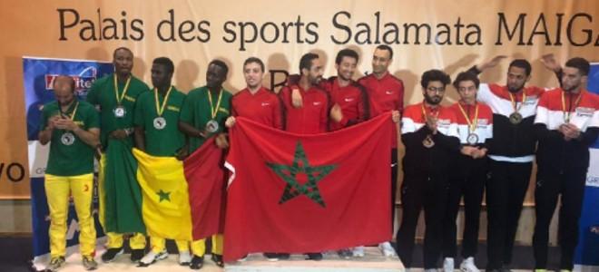 صورة المغرب بطلا لإفريقيا في المسايفة ويضمن مشاركة في الأولمبياد
