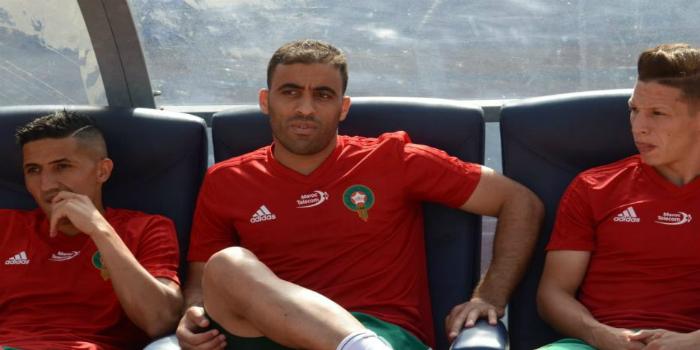 صورة حمد الله يثير غضب المغاربة في تصرف جاء تزامنا مع مباراة ناميبيا