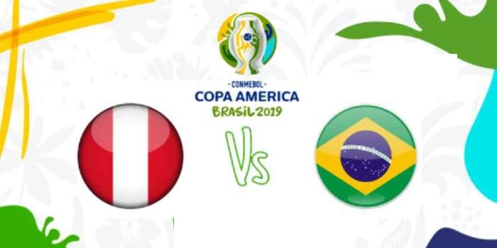 صورة البث المباشر لمباراة بيرو والبرازيل