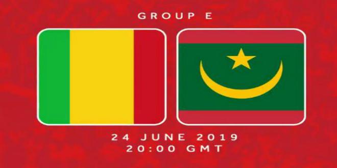 صورة البث المباشر لمباراة موريتانيا ومالي
