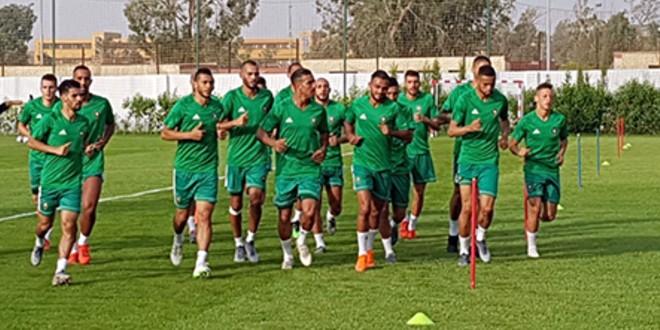 صورة المغرب بدون نجميه في أولى التداريب بعد مباراة ناميبيا