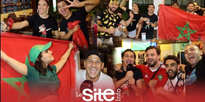 صورة من تايلاند هكذا تفاعلت الجماهير المغربية مع فوز المنتخب الوطني