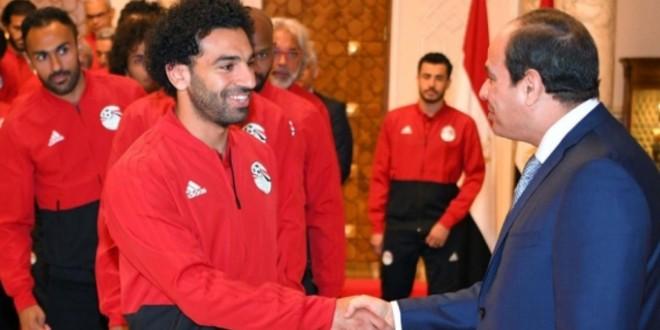 صورة هذا ما قاله رئيس مصر في افتتاح كأس إفريقيا