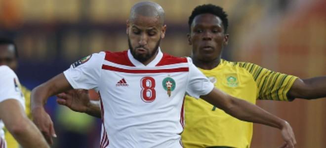 صورة هذه مدة غياب الأحمدي عن المنتخب المغربي