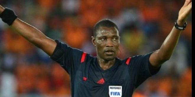 صورة بالصور-استقبال تاريخي لحكم نهائي كأس إفريقيا