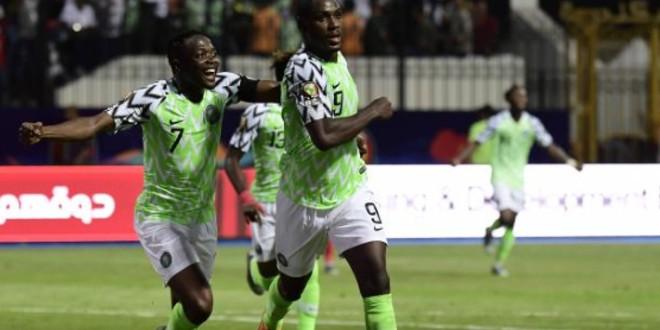 صورة نيجيريا تعبر الكاميرون وتتأهل إلى ربع نهائي الكان-فيديو