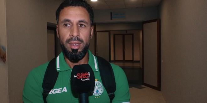 """صورة فيديو-أبوشروان لـ""""سيت أنفو الرياضية"""": أبناء الرجاء هم الأساس"""