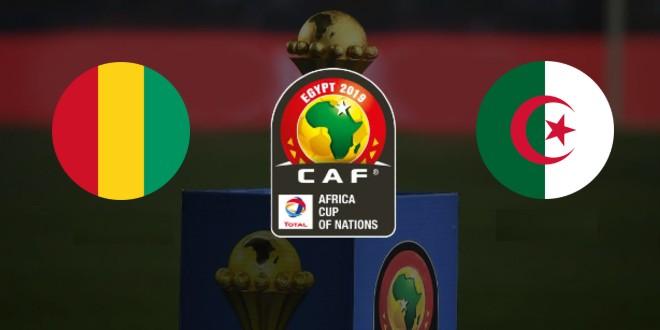 صورة ملخص مباراة الجزائر وغينيا