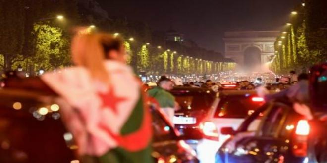 صورة اعتقال 198 شخصا في فرنسا خلال احتفالات تتويج الجزائر بكأس أمم إفريقيا