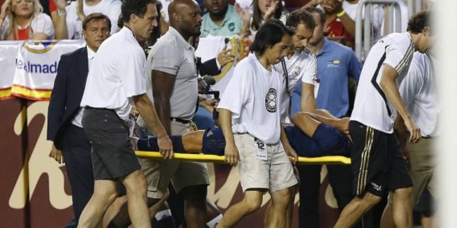 صورة الإصابة تهدد موسم نجم ريال مدريد