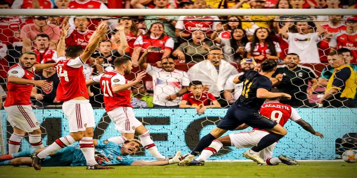 """صورة غاريت بيل يتألق ويقود ريال مدريد لـ""""ريمونتادا"""" أمام أرسنال- فيديو"""