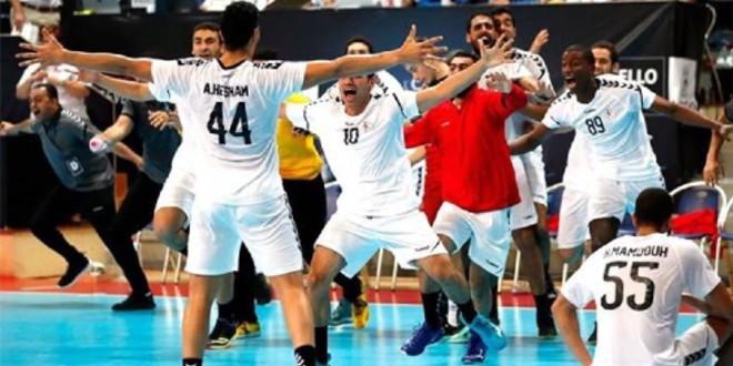 صورة المنتخب المصري للشباب يحقق برونزية مونديال اليد