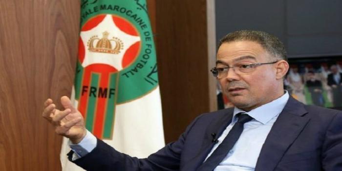 صورة لقجع: نحن في حرب مع الاتحاد التونسي لكرة القدم