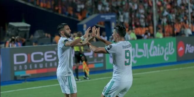 صورة أهداف مباراة الجزائر ونيجيريا – هدف عالمي لرياض محرز