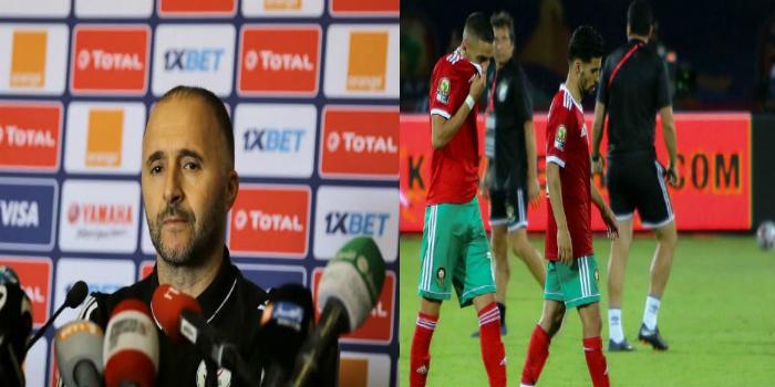 صورة مدرب الجزائر : خروج المغرب جرس إنذار بالنسبة لنا