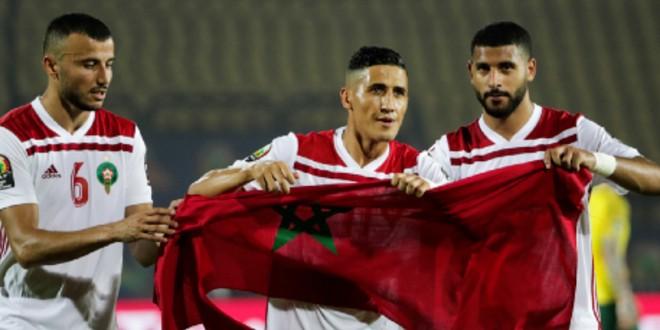"""صورة إعتذار نجم المنتخب المغربي بعد فضيحة """"الطاسة"""""""