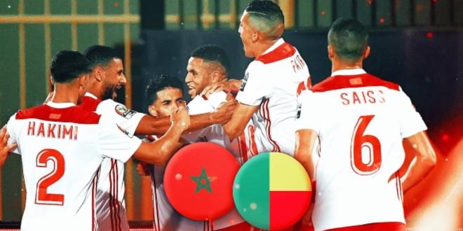 صورة شاهد هدف المنتخب الوطني أمام البنين