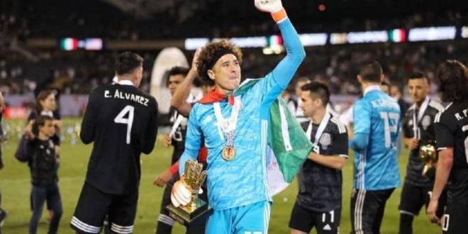 صورة المنتخب المكسيكي يتوج بالكأس الذهبية