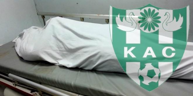 صورة العثور على جثة لاعب النادي القنيطري بمنزله
