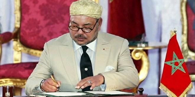 """صورة الملك يهنئ الجزائر بعد الفوز بـ""""الكان"""": هذا التتويج هو بمثابة فوز للمغرب أيضا"""
