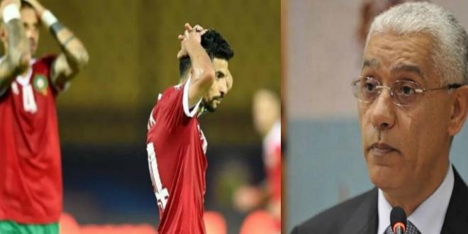 """صورة وزير الشباب والرياضة: """"الزهر"""" لم يكن إلى جانب المنتخب الوطني"""