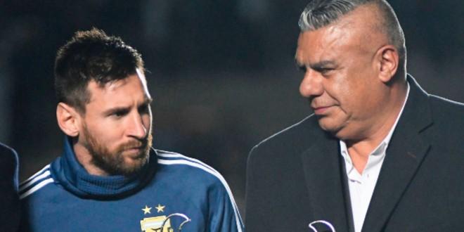 """صورة تنحية رئيس الاتحاد الأرجنتيني من """"فيفا"""""""