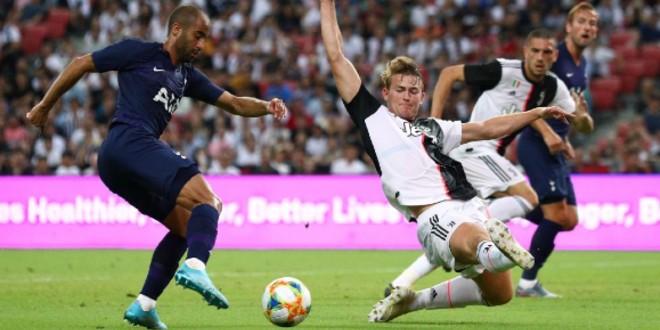 صورة ملخص مباراة يوفنتوس وتوتنهام هدف عالمي لهاري كين