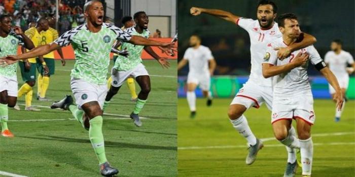 صورة القنوات الناقلة لمباراة تونس ونيجيريا