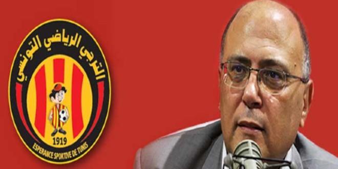 صورة رئيس اللجنة القانونية للترجي قد يجر فريقه لعقوبات من طرف الطاس