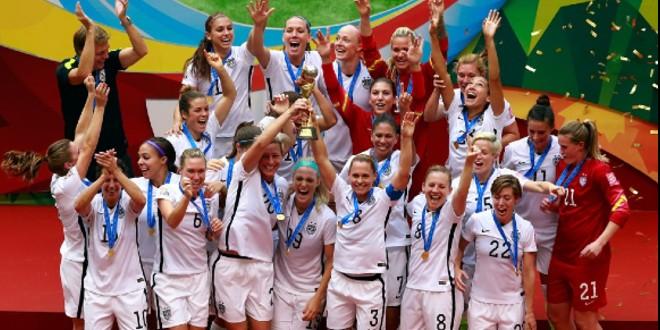 صورة كأس العالم للسيدات..الولايات المتحدة الأمريكية تحقق اللقب