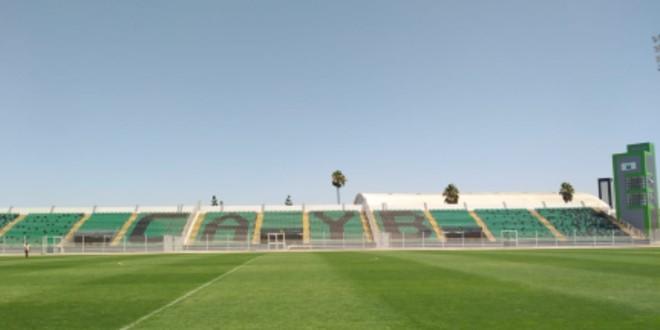صورة ملعب برشيد يثير إعجاب منظمي كأس محمد السادس