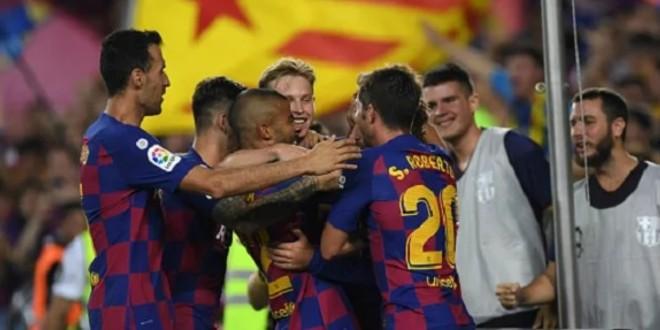 صورة برشلونة يكشف عن قميصه الثالث لموسم 2019-2020