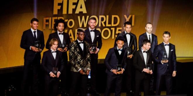 صورة لاعبو البطولة يصوتون على أفضل تشكيل عالمي -صور