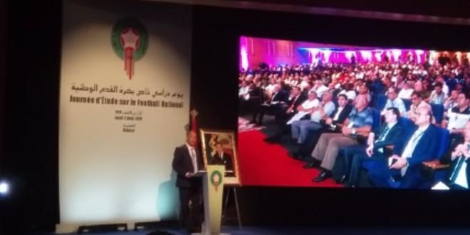 صورة لقجع يحدد أهداف الجامعة المستقبلية ويدعو لإنشاء عصبتين جديدتين