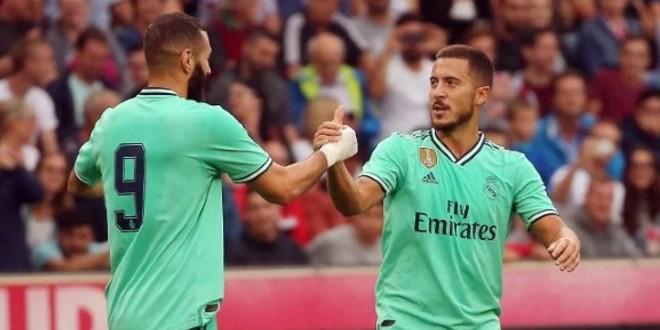 صورة قائمة ريال مدريد للقاء ليفانتي.. حضور هازارد مقابل غيابات بالجملة