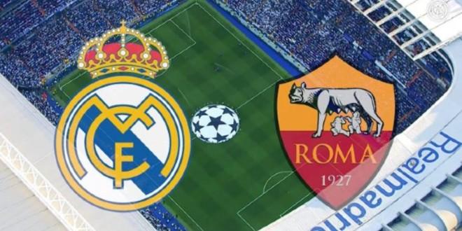 صورة البث المباشر لمباراة ريال مدريد وروما