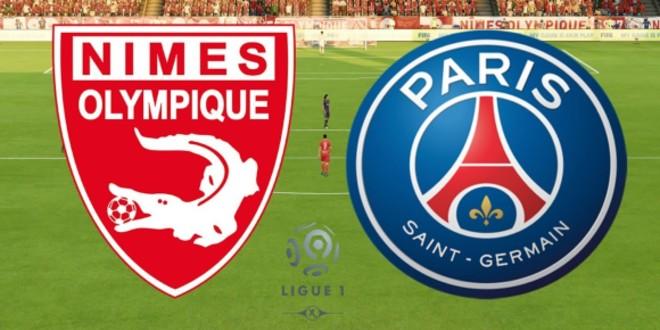 صورة البث المباشر لمباراة باريس سان جيمان ونيم