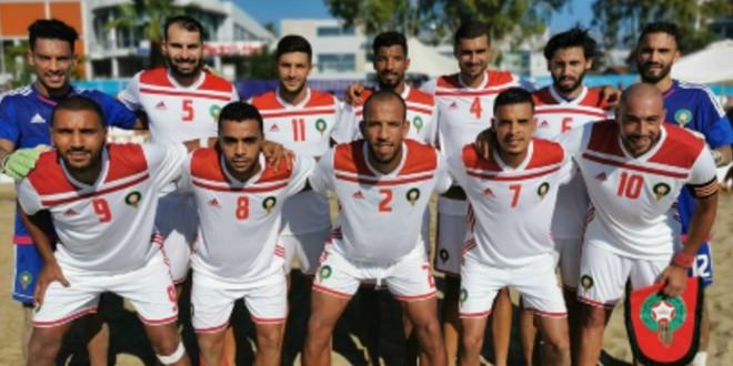 صورة منتخب الكرة الشاطئية ينهزم في مباراته الأولى في ألعاب البحر الأبيض المتوسط