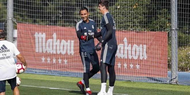 صورة حارس ريال مدريد يطلب الرحيل عن الفريق