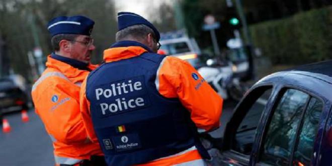صورة الشرطة البلجيكية توقف هازارد