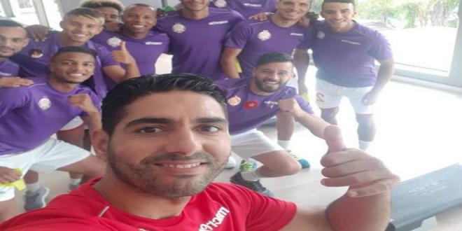"""صورة الوداد يباشر معسكر مراكش بحصة تدريبية في الصالة الرياضية- """"صور"""